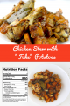 "Chicken Stew with ""Fake"" Potatoes"