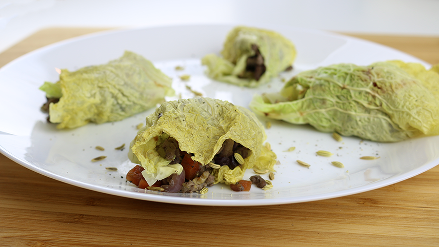 LCHF Italian Cabbage Dumpings
