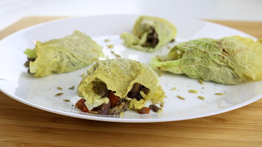 LCHF Italian Cabbage Dumpings