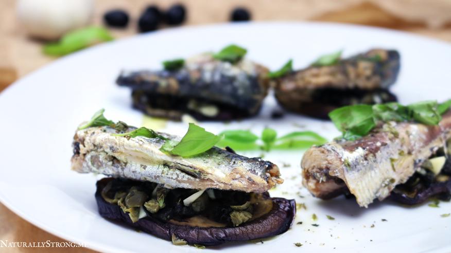 Sardines and Eggplants