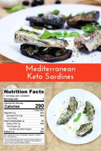 Mediterranean Keto Sardines